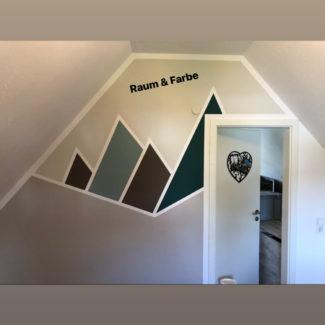 """Berglandschaft"" im Kinderzimmer"