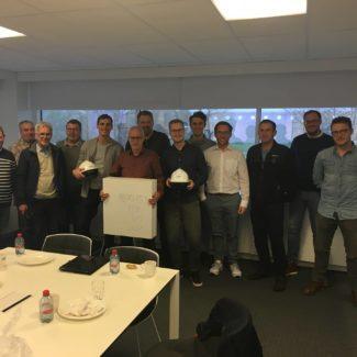 Besuch des Zukunftslabors der Firma Xella in Belgien