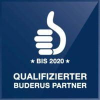 Buderus Fachpartner Siegel2020