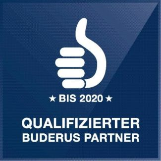 Buderus Fachpartner Siegel2020