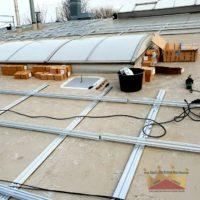 Bau Photovoltaikanlage Leopoldshöhe