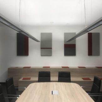 Neugestaltung eines Besprechungsraumes