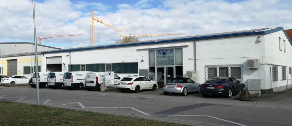 Betriebsstätte in Karlsdorf-Neuthard
