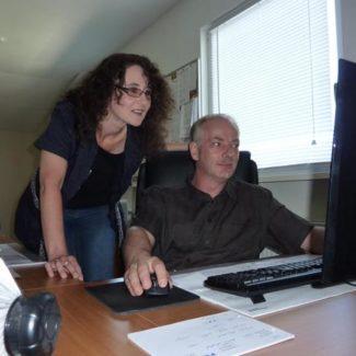 Rainer und Anja Wolf